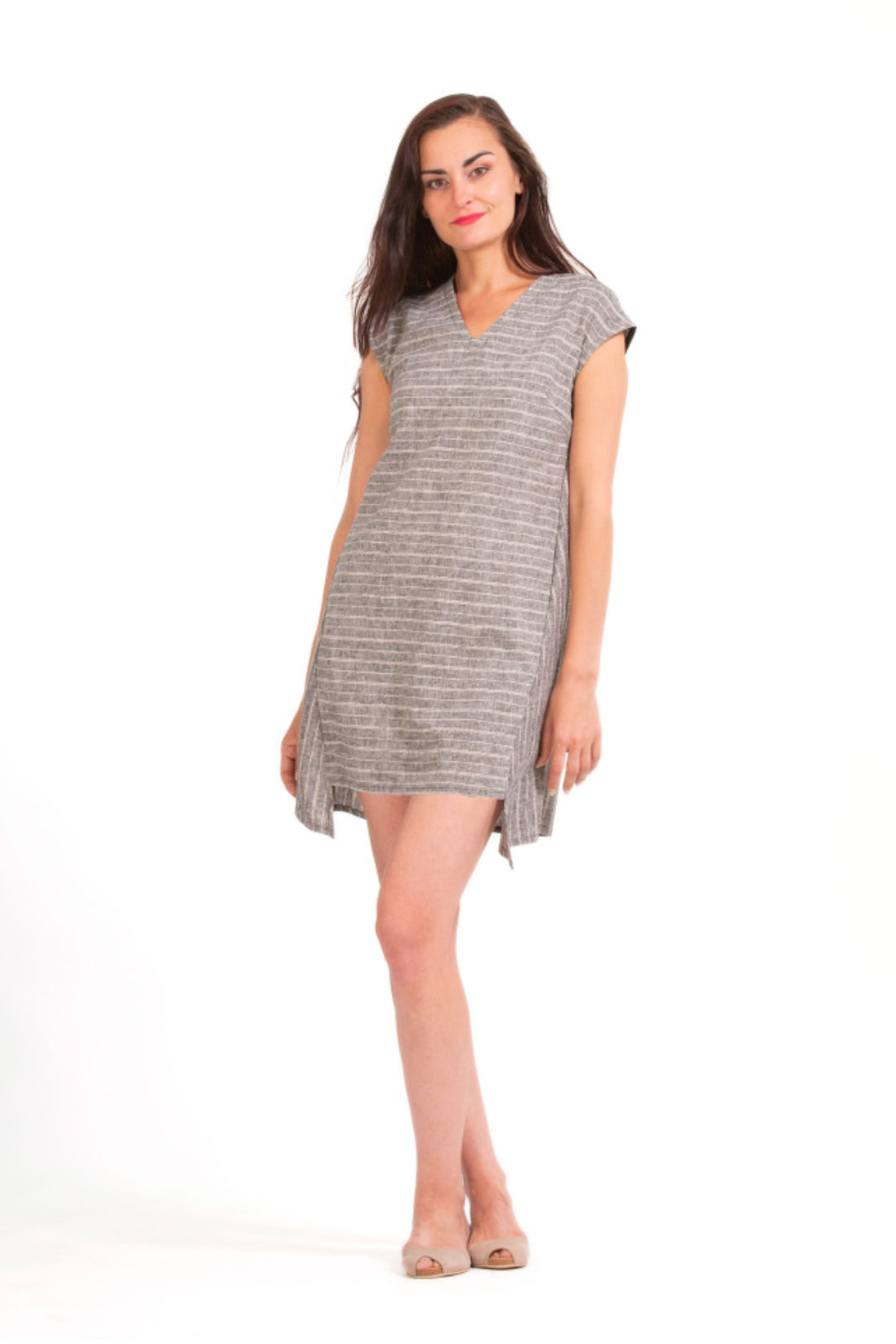 Birch High Low Tunic Down Dress
