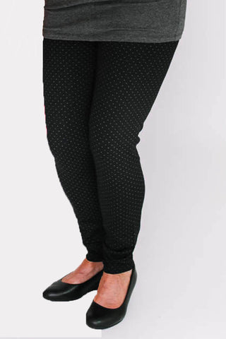 MARIE C Delice Pants in Black Dots FW2020/2021