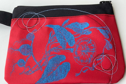 Cynthia DM waterproof pouches-Flowers