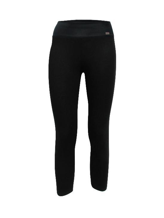 Bojan Leggings by Moovment, Black, 3/4 leggings, bamboo-viscose, sizes XS-XXL, made in Quebec