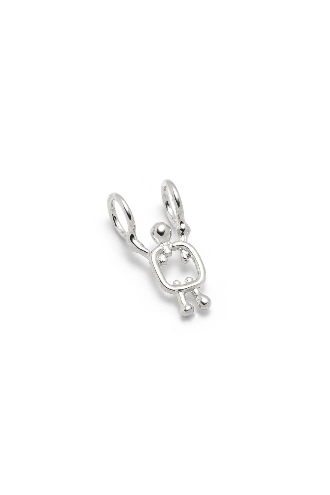 Boy charm by Lidia in sterling silver
