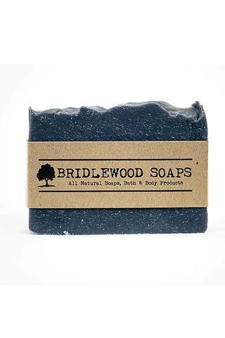 BRIDLEWOOD SOAPS Charcoal Silk and Honey Shampoo Bar