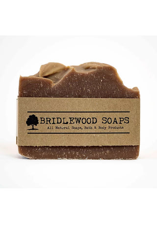 BRIDLEWOOD SOAPS Chocolate Peppermint Soap Bar
