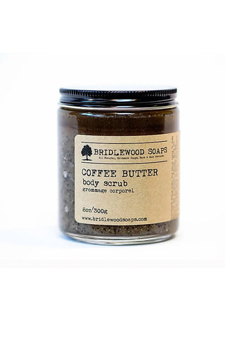 BRIDLEWOOD SOAPS Coffee Butter Body Sugar Scrub
