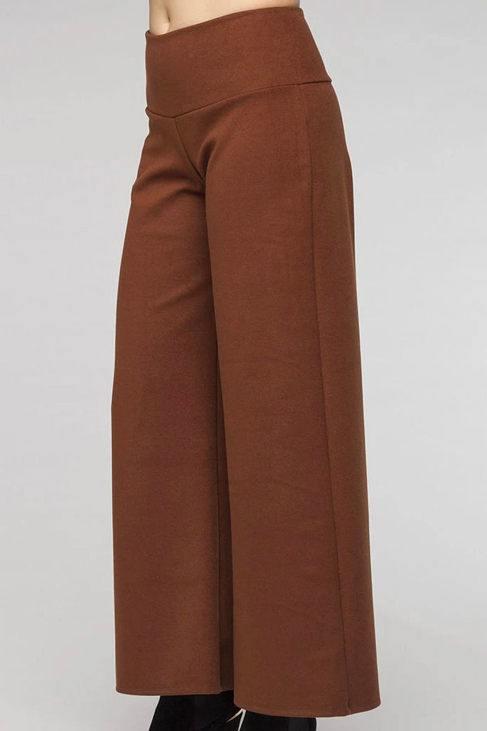 Darius Pants Kollontai FW 20/21 Brown side view available in sizes XS to XL