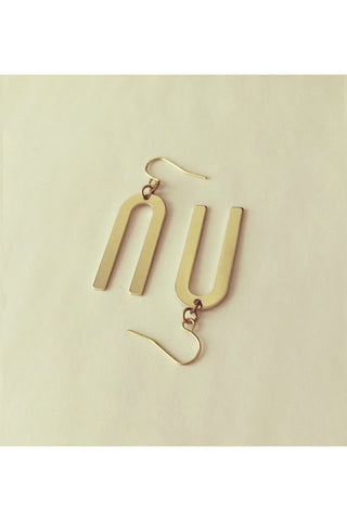 Skinny Spike Earrings