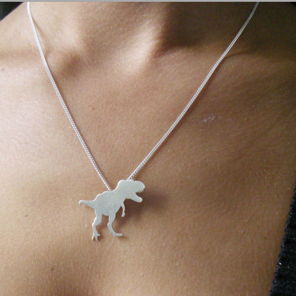 Dino Sterling Silver Necklace