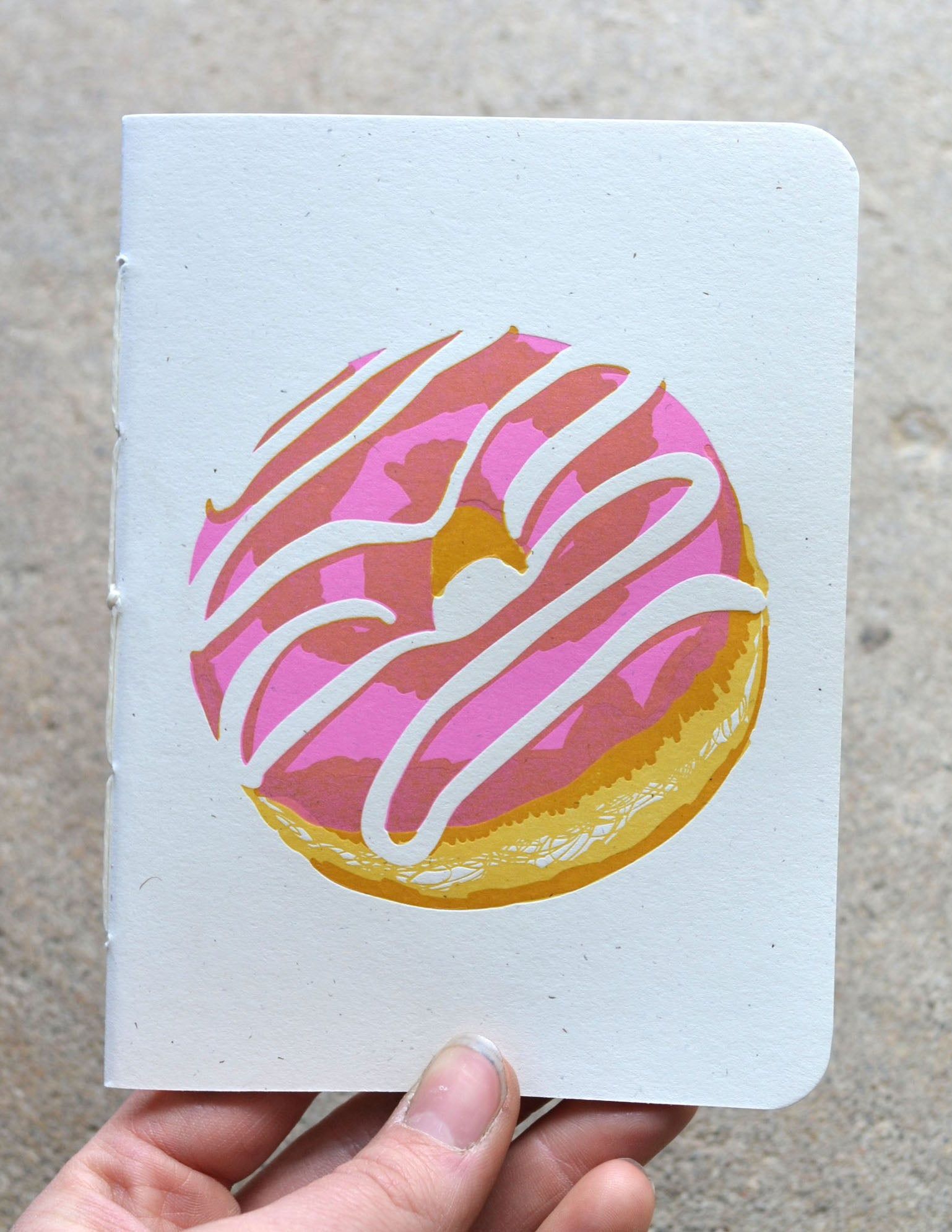 Donut Kiss the Paper Notebook