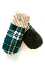 Upcycled Sweater/ Polar Fleece Mittens