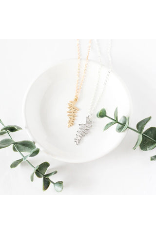 Fern Leaf Necklace