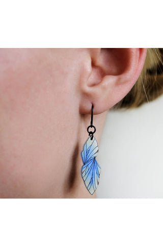 Floral Rope Dangle Earrings
