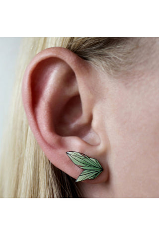 Floral Wing Studs