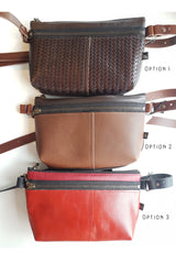Glendale Pouch - 6 COLOUR OPTIONS