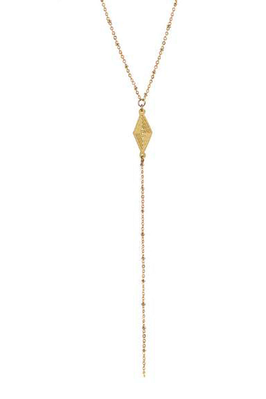 CP-20005/Diamond pendant necklace with chain