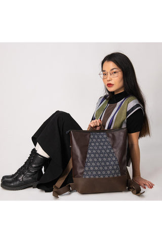 Hobart Bag - Japanese Fabric
