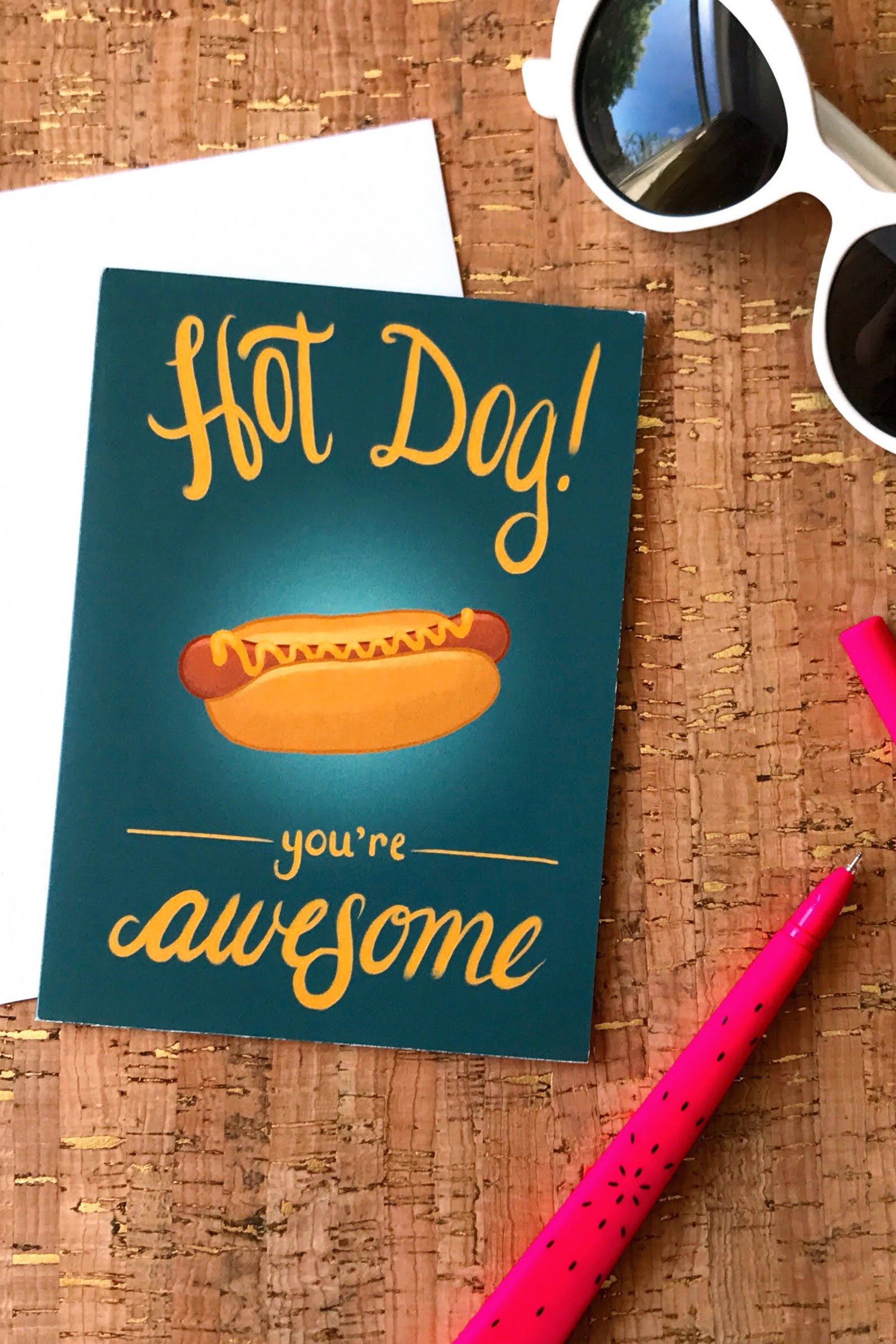 Hot Dog Cards