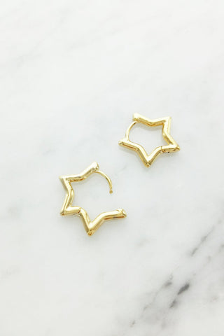 Dainty Shape Hoop Earrings