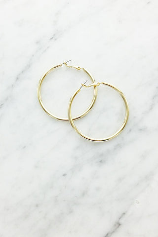 Bold Large Hoop Earrings