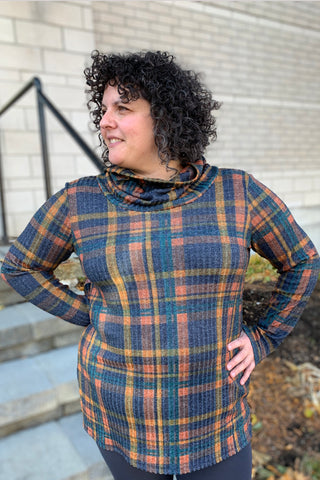 Colourful Plaid Tunic