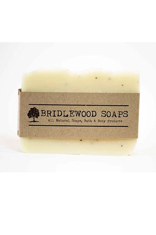 BRIDLEWOOD SOAPS Lemon Poppyseed Soap Bar