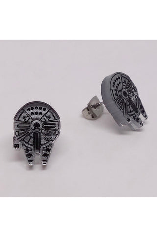 Lili0791 Star Wars Millenium Falcon Earrings
