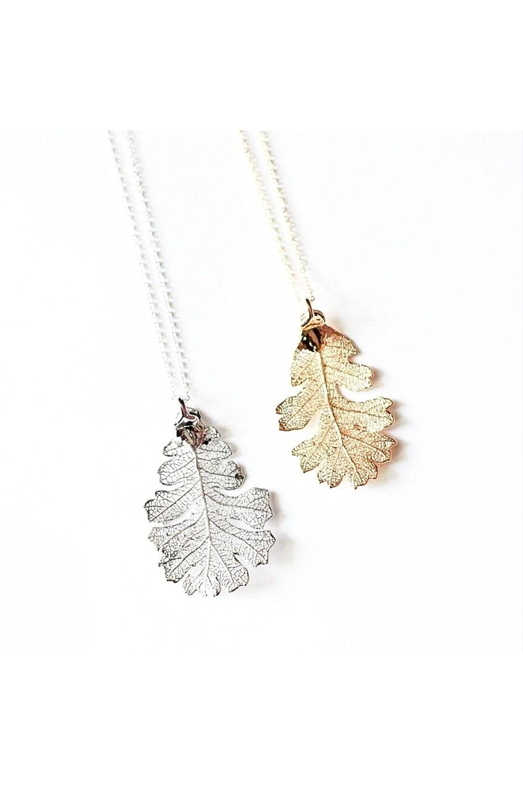 Oak Leaf Earrings