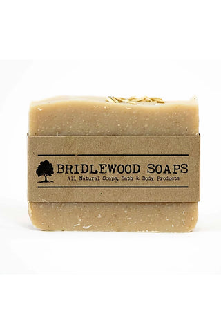 BRIDLEWOOD SOAPS Oatmeal Honey Soap Bar