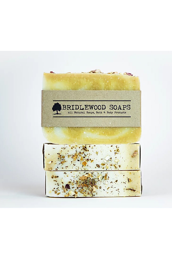 BRIDLEWOOD SOAPS Orange Turmeric Soap Bar