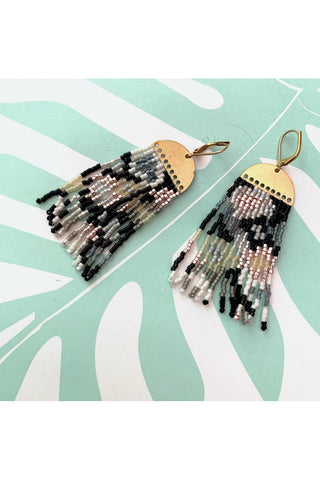 Phoebe Fringe Earrings -MADE TO ORDER