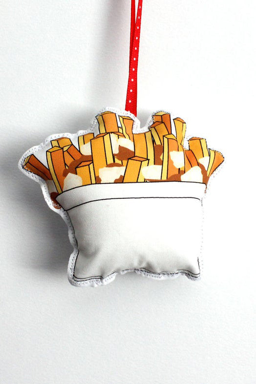 Poutine Holiday Ornament