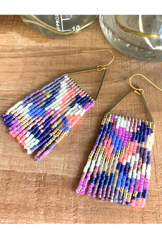 Fringe Earrings - MADE TO ORDER
