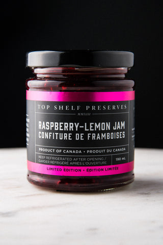 Raspberry Lemon Jam - Local delivery only