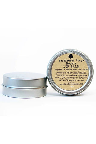 BRIDLEWOOD SOAPS Repair Lip Balm Tin