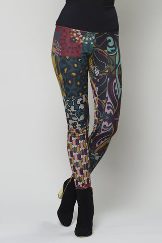Code pants by RUELLE in stained glass
