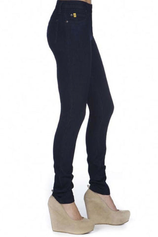High Rise Skinny Yoga Jean in Indigo Rinse shop online for sizes 24-34 or in store in Ottawa, Canada