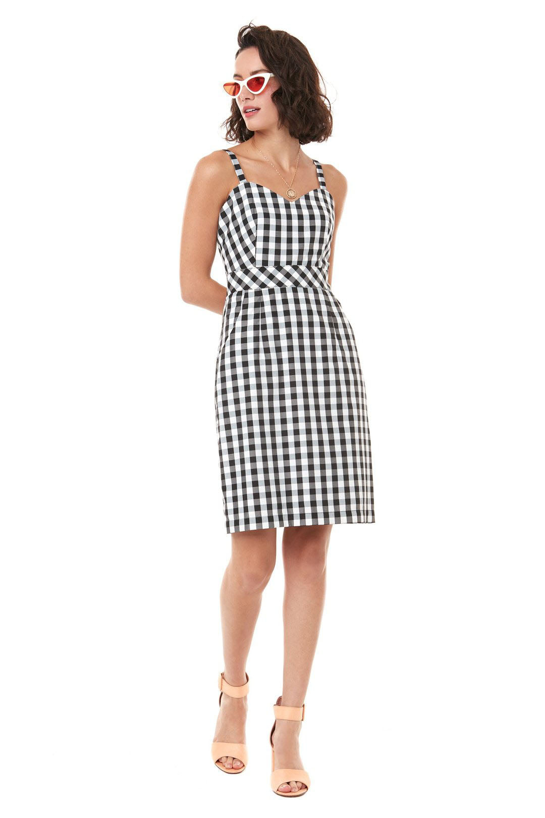 French 75 Dress Annie 50 Vichy Front