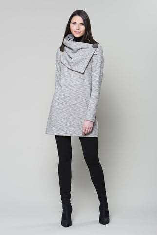 RUELLE Piano Tunic in Grey/White FW2020/2021