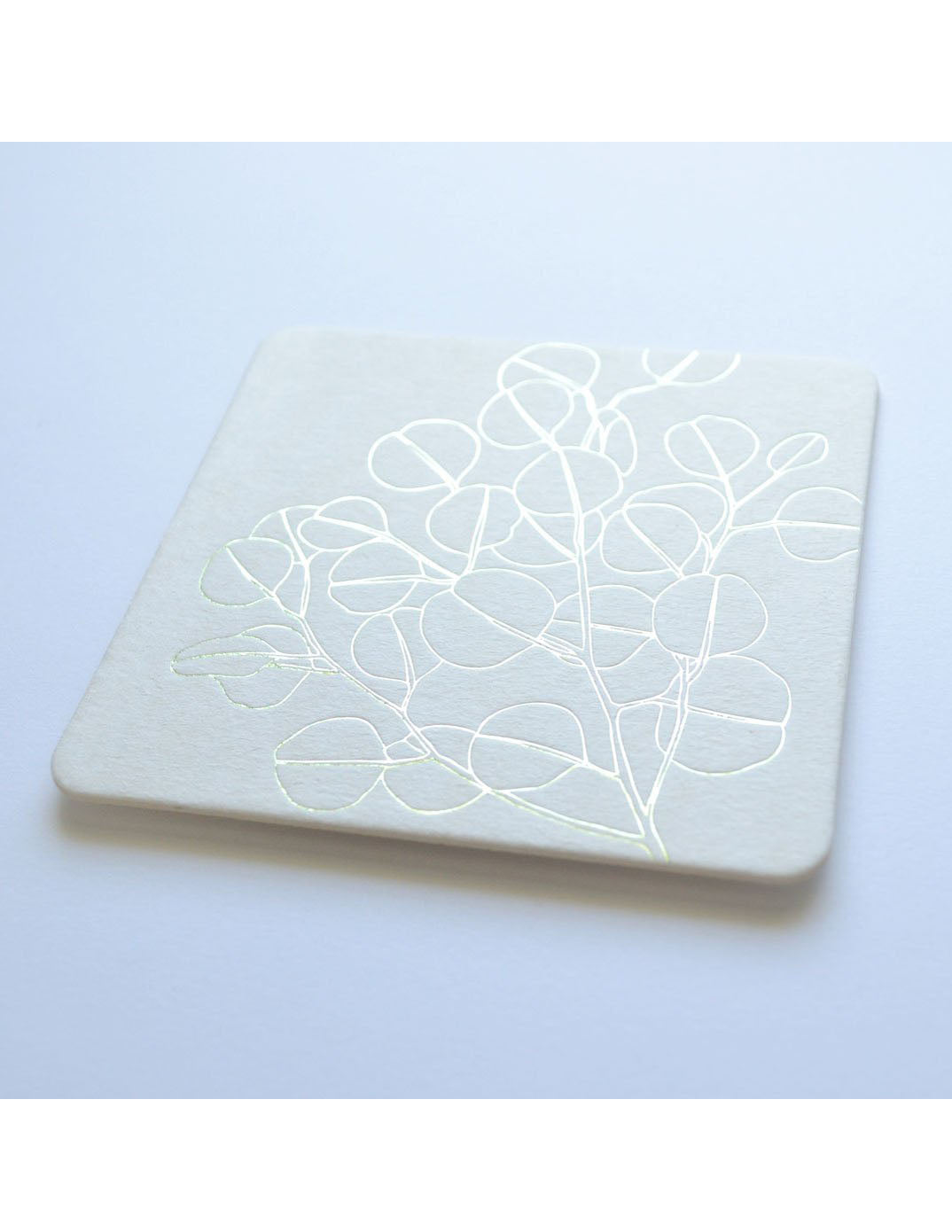 Silver Dollar Kiss the Paper Coasters