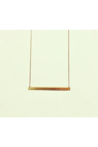 Slik Horizontal Long Necklace