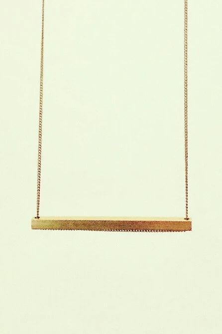 Slik H Short Necklace