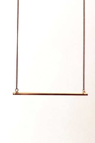 Pretzel Charm Necklace - Gold or Silver