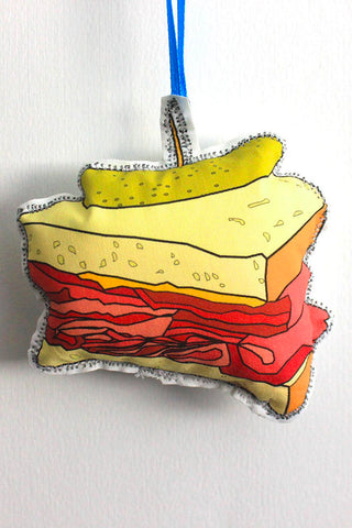 Sandwich Ornament