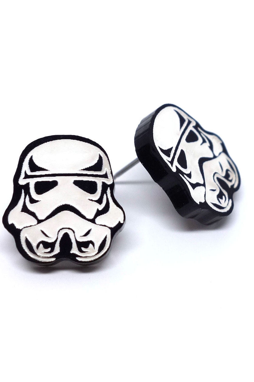 Star Wars Storm Trooper Earrings