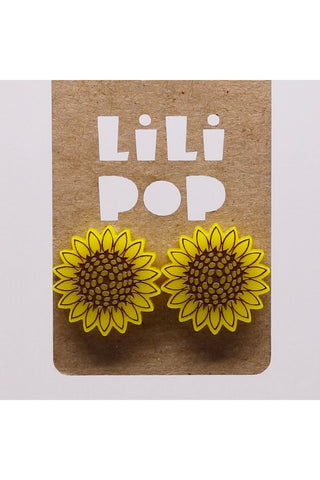 Lili0913 Sunflower Earrings