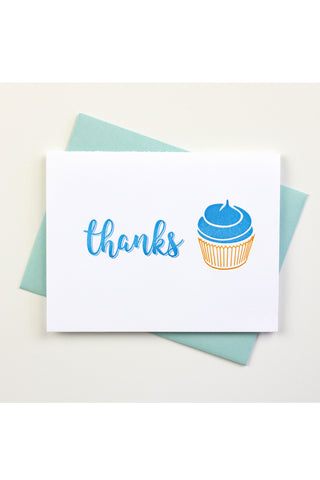 Thanks Cupcake Inkwell Originals Card
