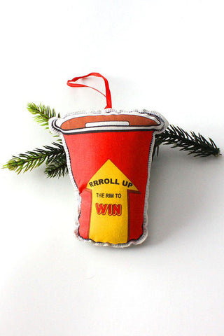 Maple Syrup Can Holiday Ornament