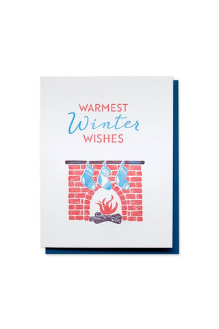 Warm Winter Wishes Inkwell Originals Card