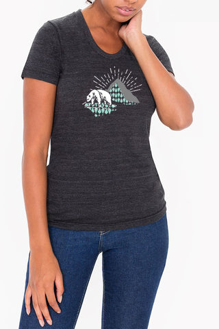 Moose & Mountain  - Indigo Men's Tee