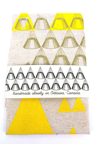Triangles Tea Towel