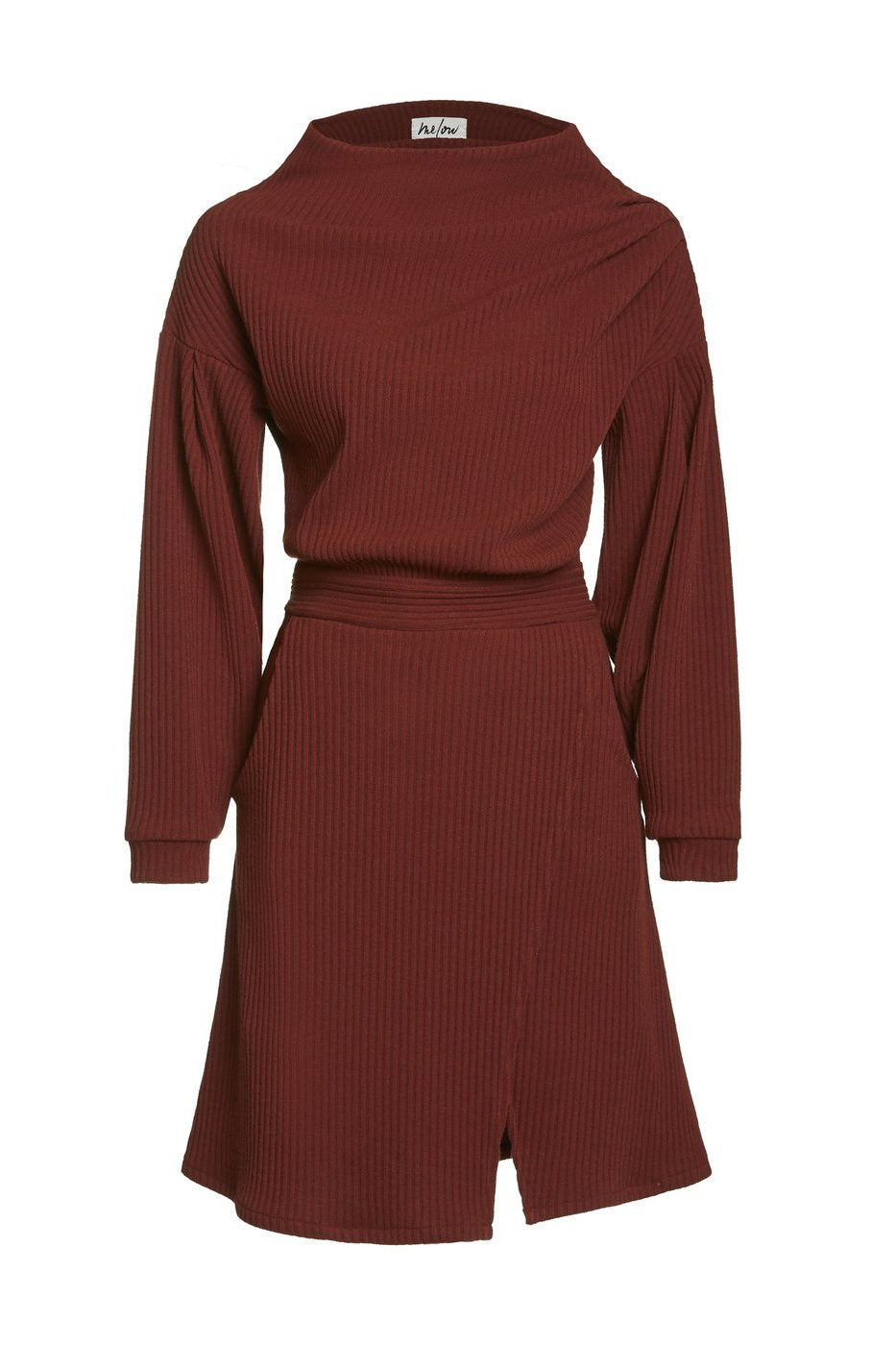 Zodiak Dress in Burgundy from Melow by Melissa Bolduc, avaialbe in sizes xs to xl